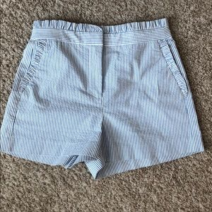JCrew Seersucker Shorts